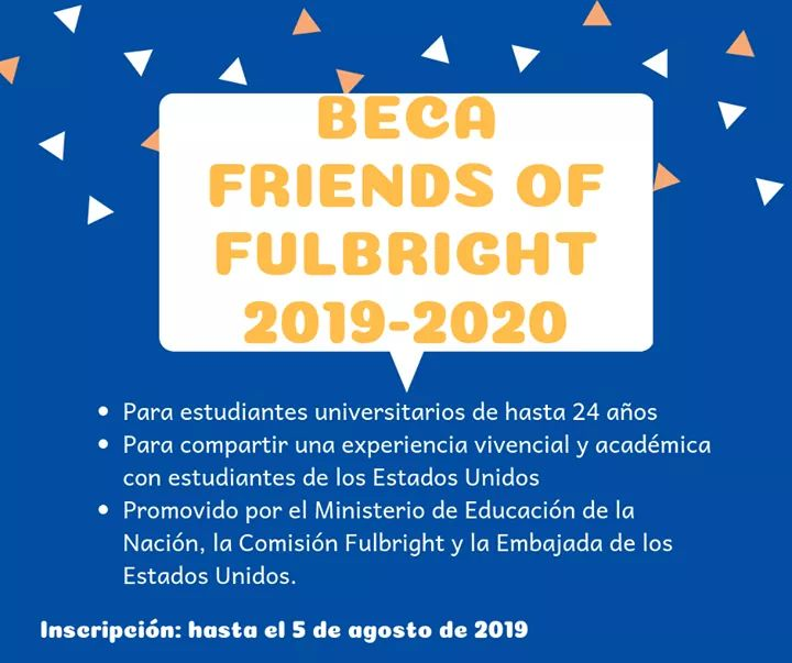 BECAS FRIENDS OF FULBRIGHT