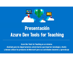Presentación de Azure Dev Tools for Teaching
