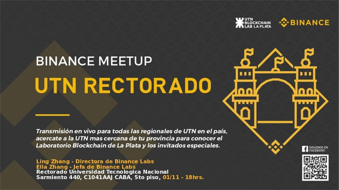 Videoconferencia: Binance Labs